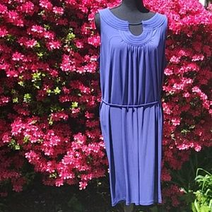 Dana Buchman XL Purple Dress